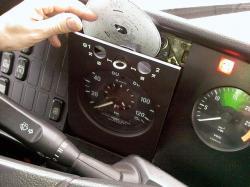 640px tachograph
