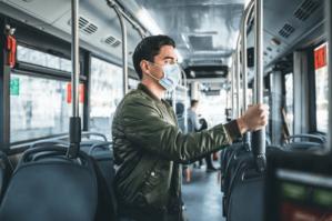 Autobus et coronavirus