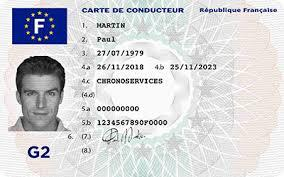 Carte de conducteur