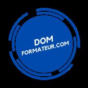 Domformateur com logo transparent