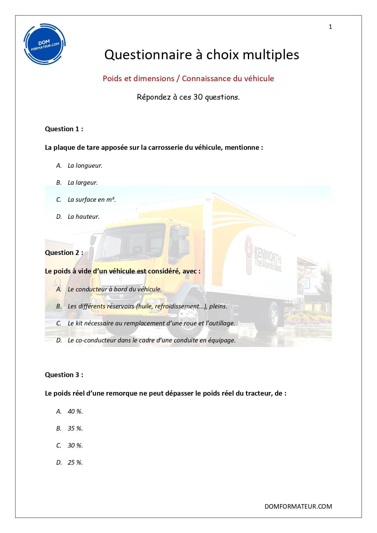 Poids et dimensions page 0001