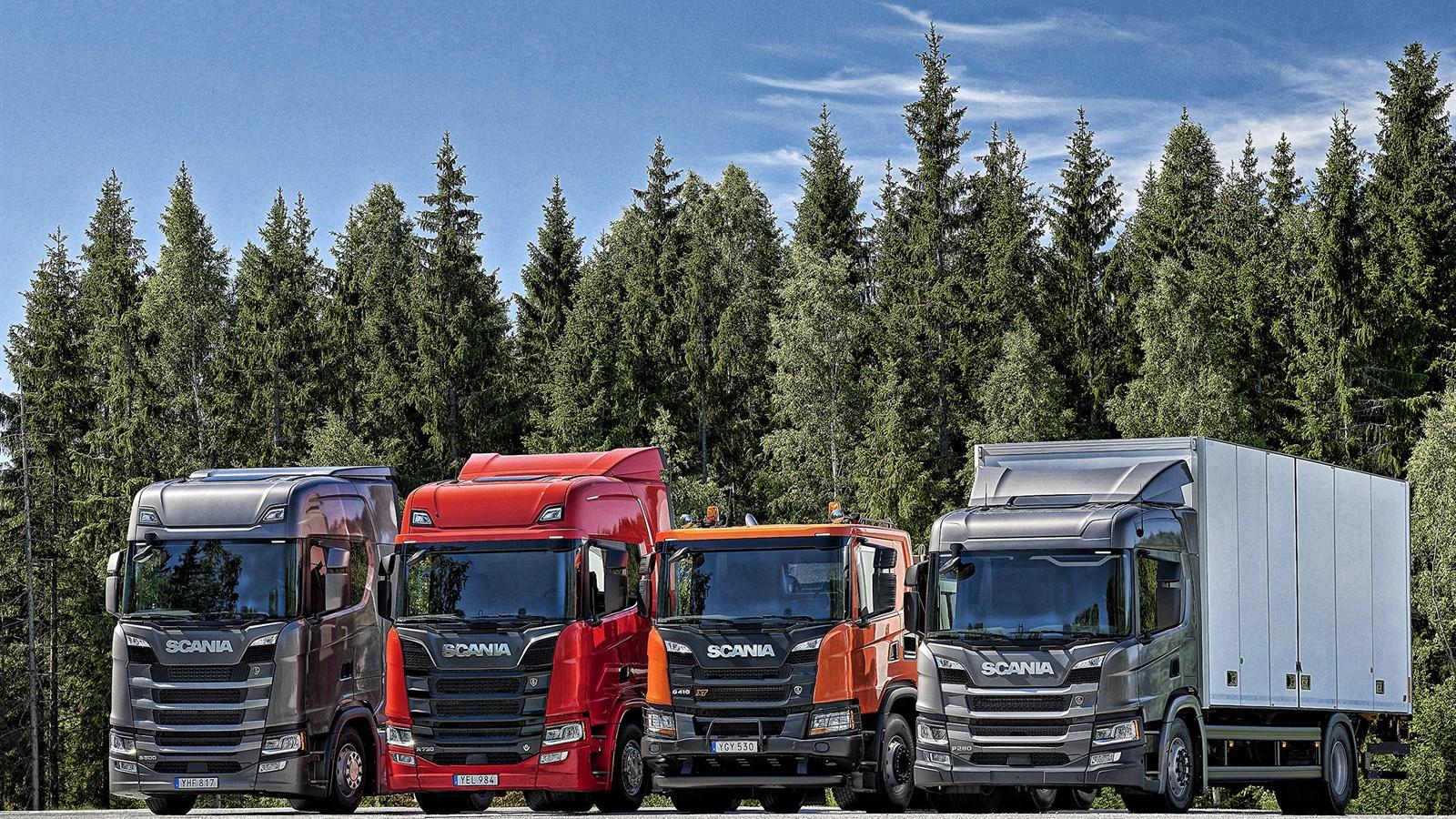 Scania truck range new s500 r730 g410
